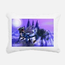 Keeper Of The Castle Rectangular Canvas Pillow