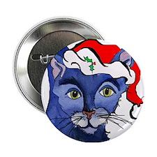 Cat 5 Celebrates Christmouse Button