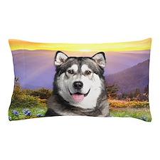 Malamute Meadow Pillow Case