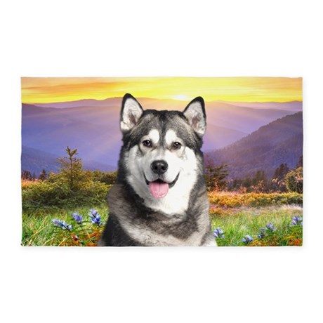 Malamute Meadow 3'x5' Area Rug