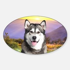 Malamute Meadow Decal