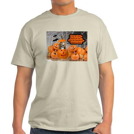 Basset Hound Halloween Ash Grey T-Shirt