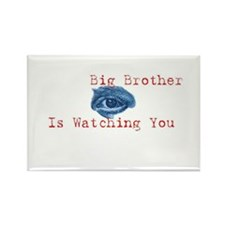 Unique Big brother is watching you Rectangle Magnet (10 pack)