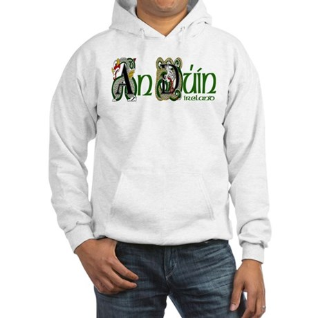 Down Dragon (Gaelic) Hooded Sweatshirt