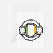 Ireland Volleyball Greeting Cards (Pk of 10)