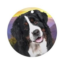 Berner Meadow Ornament (Round)