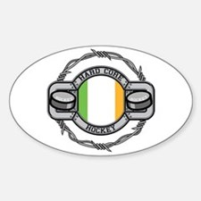 Ireland Hockey Oval Decal