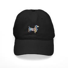 Psychedelic Doxie Dachshund Baseball Cap