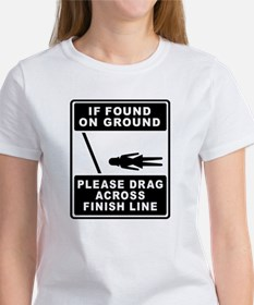 Drag Across Finish Line Tee