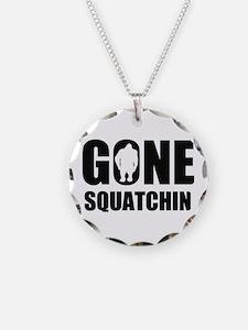 Gone sqautchin Necklace