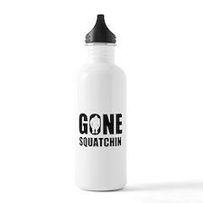 Gone sqautchin Water Bottle