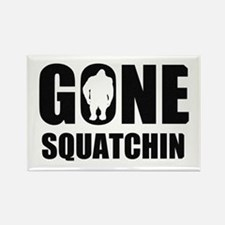 Gone sqautchin Rectangle Magnet
