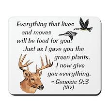Genesis 9:3-NIV Mousepad