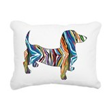 Dachshund Rectangle Canvas Pillows