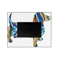 Psychedelic Doxie Dachshund Picture Frame