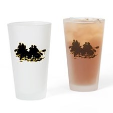 Whitewater Rafting Drinking Glass