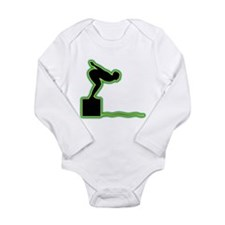Swimming Long Sleeve Infant Bodysuit