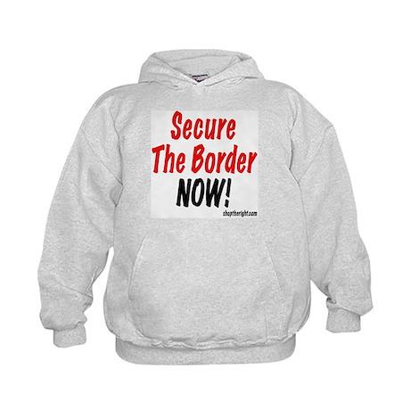 Secure The Border Kids Hoodie