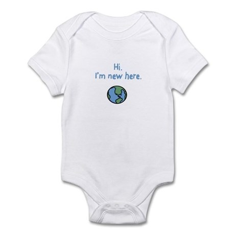 I'm new here. Infant Bodysuit