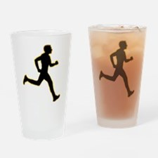 Running Drinking Glass