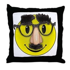 LOL Smilie face Throw Pillow