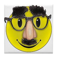 LOL Smiley face Tile Coaster