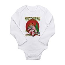 Ho Ho Horror Long Sleeve Infant Bodysuit