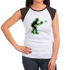 Pickleball Women's Cap Sleeve T-Shirt