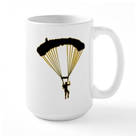Parachuting Large Mug