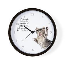 Kitten Wall Clock