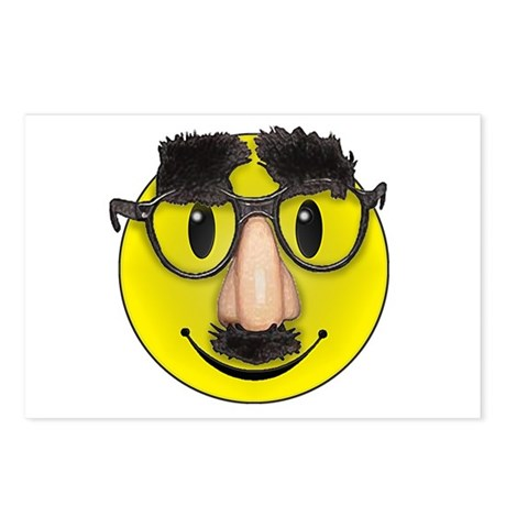 LOL Smiley Postcards (Package of 8)