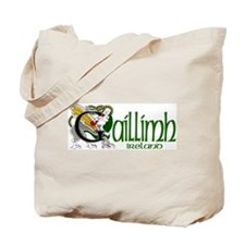 Galway Dragon (Gaelic) Tote Bag