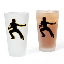 Kung Fu Drinking Glass
