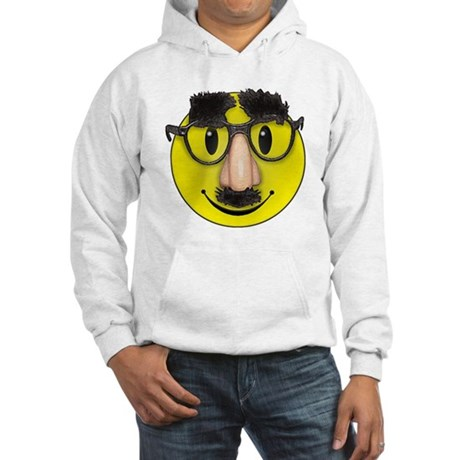 LOL Smiley Face Hooded Sweatshirt