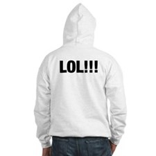 LOL Smiley Face Hoodie