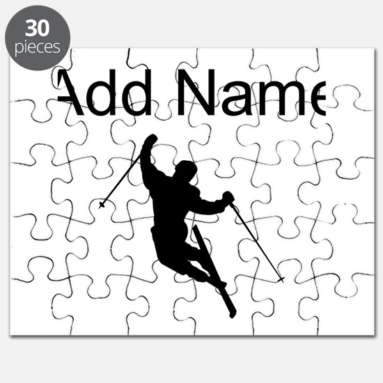 I LOVE SKIING Puzzle