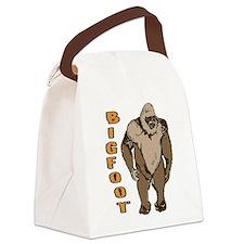 Bigfoot 1 Canvas Lunch Bag