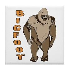 Bigfoot 1 Tile Coaster