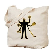 Multi-Talented Sportsman Tote Bag