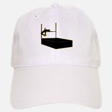 High Jumping Baseball Baseball Cap
