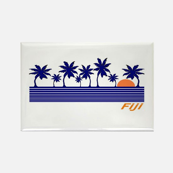 Cute South pacific Rectangle Magnet