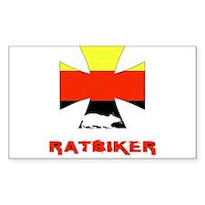 Rat biker Germany Decal