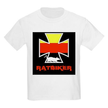 Rat biker Germany Kids Light T-Shirt