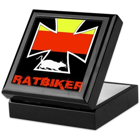 Rat biker Germany Keepsake Box