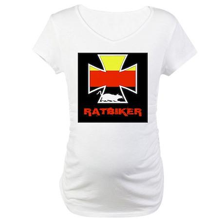 Rat biker Germany Maternity T-Shirt