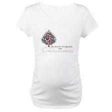 Pink Ribbon Xmas Tree Shirt