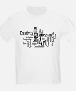 Art Word Cloud T-Shirt
