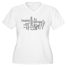 Art Word Cloud T-Shirt