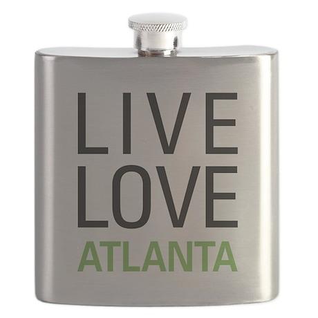 Live Love Atlanta Flask