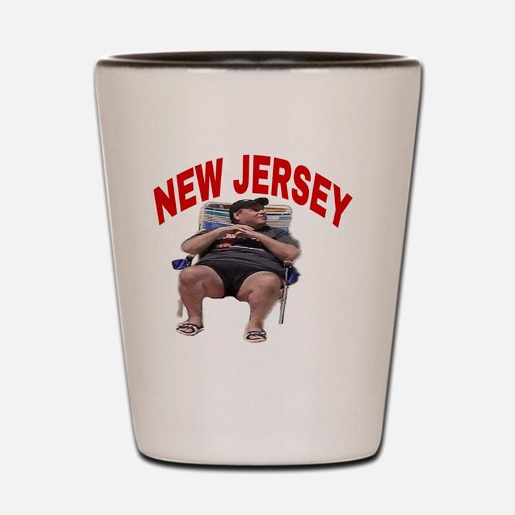 Cute Chris christie Shot Glass